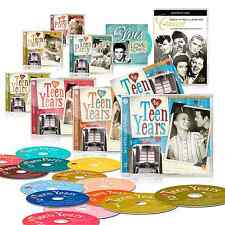 The Teen Years 14 CD Set by Zestify + CD Elvis Love Songs + 2 DVDs + Booklet