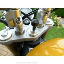 15mm-17mm Motorrad Gabelschaft Joch GPS Halterung für Garmin Zumo 390LM