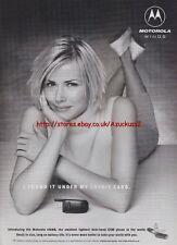 Motorola Wings V3688 Mobile Phone 1999 Magazine Advert #2322
