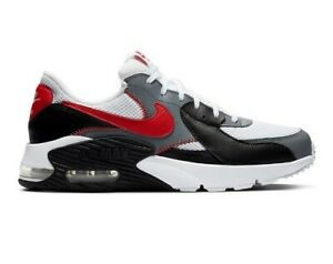 New Nike Air Max Excee Men's Running Shoes, Size: 12, White/Red