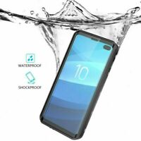 For Samsung Galaxy S10 + Plus Waterproof Case Cover Screen Protector Shockproof