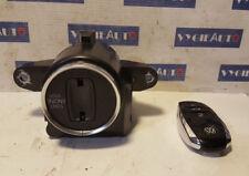 2012 VW Touareg 7P Cerradura y llave de encendido fob remoto 7P6905843B OEM