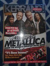 Metallica Kerang Magazine Autographed