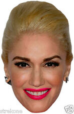 GWEN STEFANI TV's THE VOICE Coach /Judge - Large Head Window Cling Sticker Decal