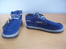 Shoes Sole Rebels Riff Corr 2.0 Boat Shoes Approx UK Size 4.5 Blue New + Tag