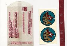 Vintage IMPKO water decal fire Dragon motorcycle Rat Rod  FREE SHIPPING