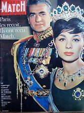 IRAN SHAH FARAH REZA ILES LERINS MOINE SAINT-HONORAT MATCH N° 653 OCTOBRE 1961