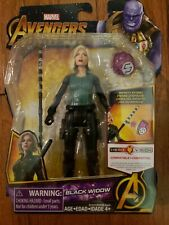 "MARVEL AVENGERS INFINITY WARS ""BLACK WIDOW"" WITH INFINITY STONE NEW IN PACKAGE"