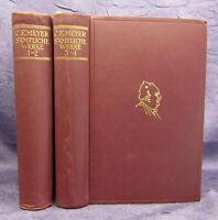 Conrad Ferdinand Meyer Sämtliche Werke 4 Teile in 2 Bde um 1930 Belletristik sf