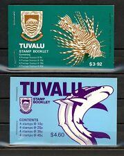 Tuvalu Scott 101 // 108A (2 footnote bookets) Mint NH