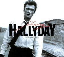 CD de musique rock 'n' roll, Johnny Hallyday, sur album