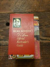Old Mr Boston De Luxe Official Bartenders Guide & Southern Comfort Happy Hour