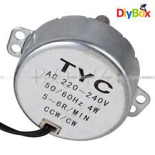 AC 220V-240V TYC-50 Synchronous Motor 5-6RPM CW/CCW 4W Torque 4KGF