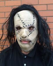 Halloween Serial Killer Leatherface Mask Latex Stitched Face Flesh Fancy Dress