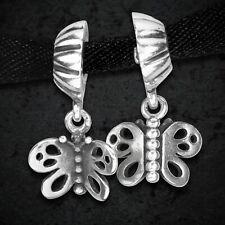 Pandora  Butterfly Pendant Charm 790531 Mint & Retired