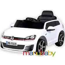 VOLKSWAGEN GOLF 7 GTI auto elettrica 12V - macchina per bambini con radiocomando