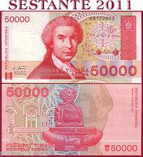 CROATIA - CROAZIA  -  50.000 50000  DINARA 1993  -  P 26 -  FDS / UNC