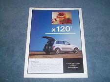 "2002 Chrysler PT Cruiser Ad ""x 120 cu ft"""