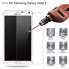2 x Premium Quality Tempered Glass Screen Protector For Samsung Galaxy Note 4