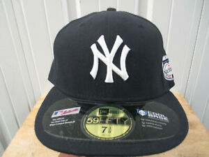VINTAGE NEW ERA NEW YORK YANKEES 7 3/8 FITTED HAT CAP 2008 ALL-STAR GAME NWT
