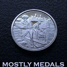 Franklin Mint Sterling Silver Mini-Ingot 1935 Works Progress Administration WPA