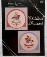 Alma Lynne Presents Childhood Revisited Cross Stitch Pattern Booklet ALX-22