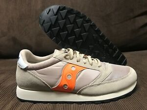 SAUCONY JASS RUNNER CAMEL/BEIGE/ORANGE  SZ 13 US NEW DS