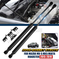 Front Bonnet Hood Gas Strut Lift Support Carbon Steel For Mazda MX5 Miata