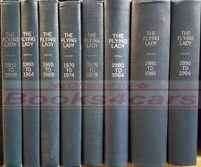 ROLLS ROYCE BENTLEY BOOK FLYING LADY MAGAZINE BOUND VOLUME 1970-1974