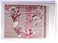 2013 Score Printing Plate Magenta Vincent Brown #D1/1 #182 *70380