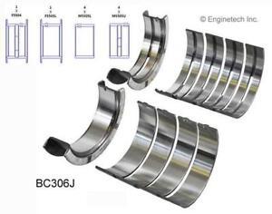 Main Bearing Set   EngineTech  BC306J   Ford  351M, 351W & 400 CID  77-97