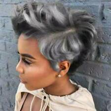 Women's Natural Short Curly Hair Wig BOB Cosplay Party Long Wavy Wigs Pixie Afro