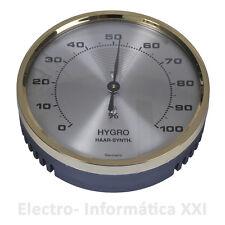 Higrometro Analogico Pelo Sintético 70mm Ideal Incubadoras Nacedoras Envio 24-72