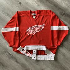 Authentic Detroit Red Wings 52 CCM Jersey Vintage 90s Blank