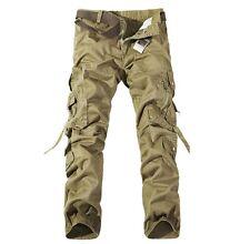 US Seller Mens Casual Military Army Cargo Combat Work Trouser Pants PK27