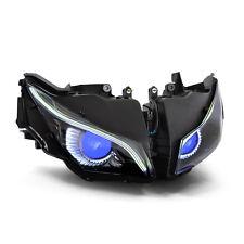 KT LED Eagle Eye DRL HID Headlight Assembly for Honda CBR1000RR 2012 2016 Blue