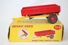 Dinky Toys #319, Weeks Farm Trailer with Original Box #2