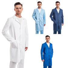 Men Multicolored cheap Medical Lab Coat Nurse Uniform Doctor Jacket S/M/L/XL/2XL