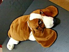 2 Feet Long HUSH PUPPIES Basset Hound Plush Dog, Applause Pre-owned