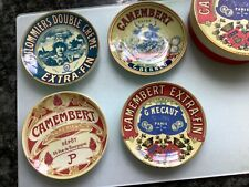 SET OF 4 CHEESE PLATES CAMEMBERT EXTRA FIN