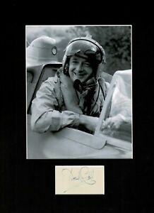 DONALD CAMPBELL WATER SPEED RECORD AUTHENTIC SIGNED AUTOGRAPH DISPLAY UACC *2