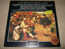 MOZART Sinfonia D-Dur BIBER Serenada C-Dur STADLMAIR Max Jan Engel SEALED NEW LP