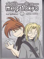 "1st 5 Volumes ""Megatokyo"" CMX Manga 2007 by Fred Gallagher"