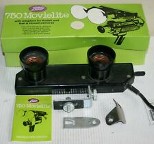 Boots 750 Movielite Cine Camera Film Light Bar & Bracket Boxed With Instructions