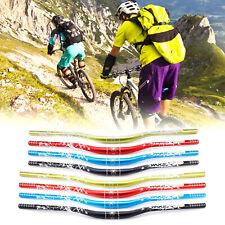 31.8x 720/780mm MTB Mountain Bike Handlebar Swallow-shaped Bicycle Riser Bar