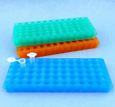 Plastic Rack for Microcentrifuge Tube Holder Stand 2/1.5/0.5ml 60 Positions, New
