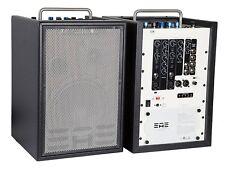 Elite Acoustic A4-8 CFB - 4-Kanal Mini PA mit Effekten Bluetooth & integr. Akku