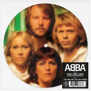 ABBA Gimme! Gimme! Gimme! Picture Disc Vinyl limited new The King Has Lost His