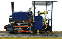 Accucraft  S78-4BU  Kerr Stuart Wren 0-4-0ST, Blue, Live Steam