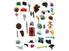 Lego SERIE 6 FIGURINE TORSE TÊTE JAMBES Minifig Torso Heads Tools Lot  NEW !
